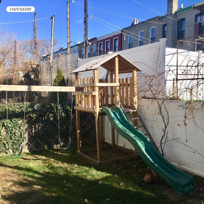New York City Real Estate | View 1868 Hart Street, #1 | Backyard
