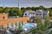 15 Church Street, D-216, Aerial of the Watchcase Pool & Pavilion