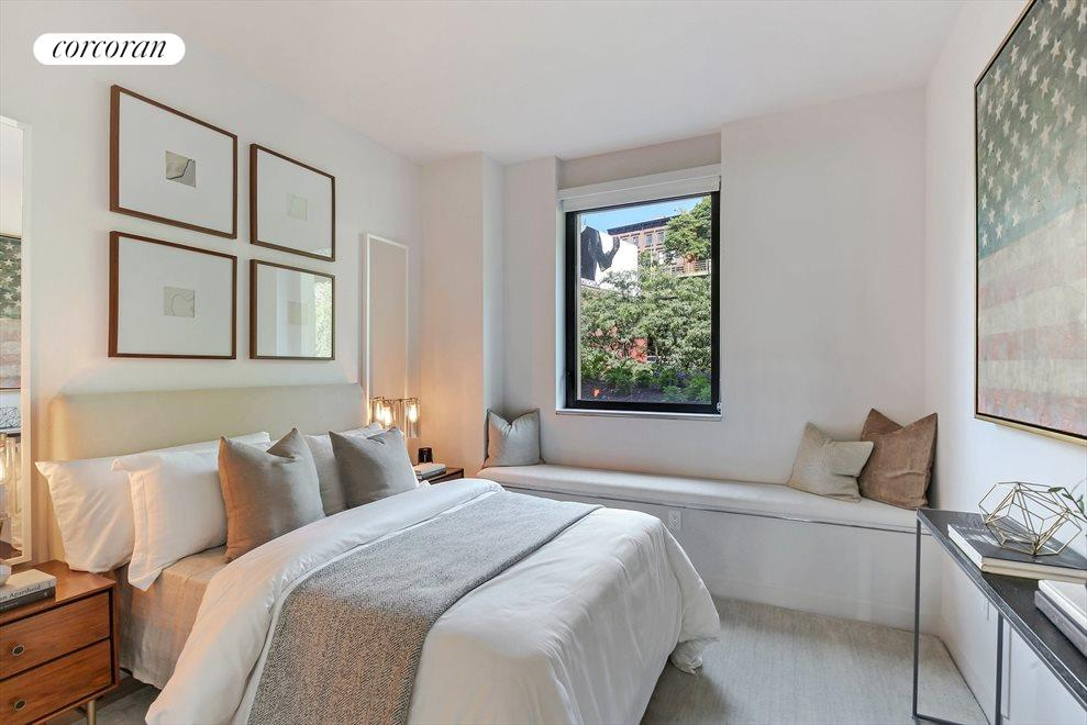 New York City Real Estate | View 130 Furman Street, #S111 | Second Bedroom