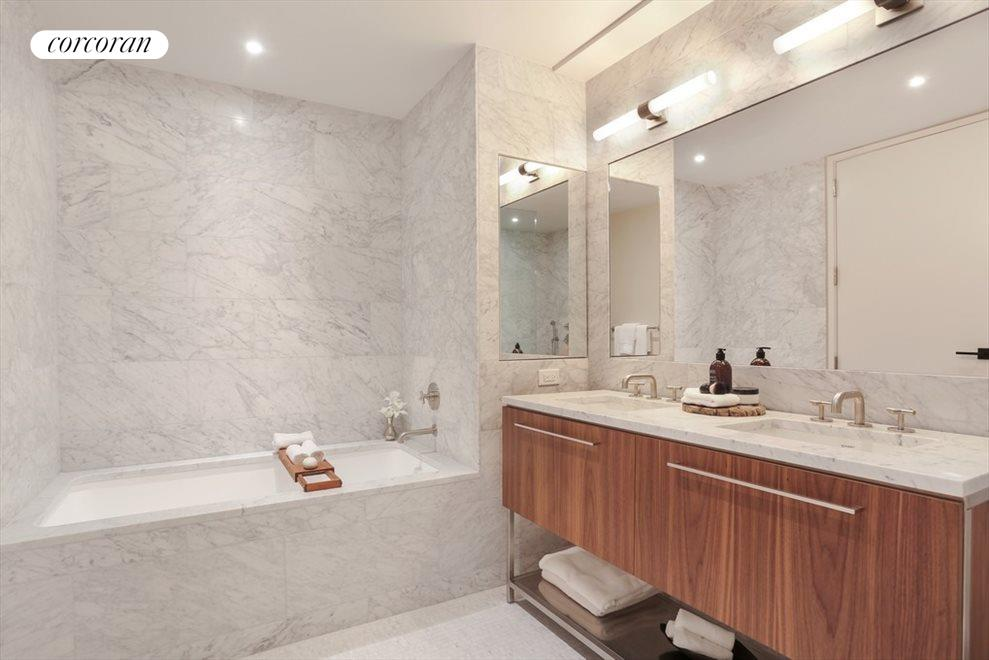 New York City Real Estate | View 130 Furman Street, #S111 | Second Full Bath