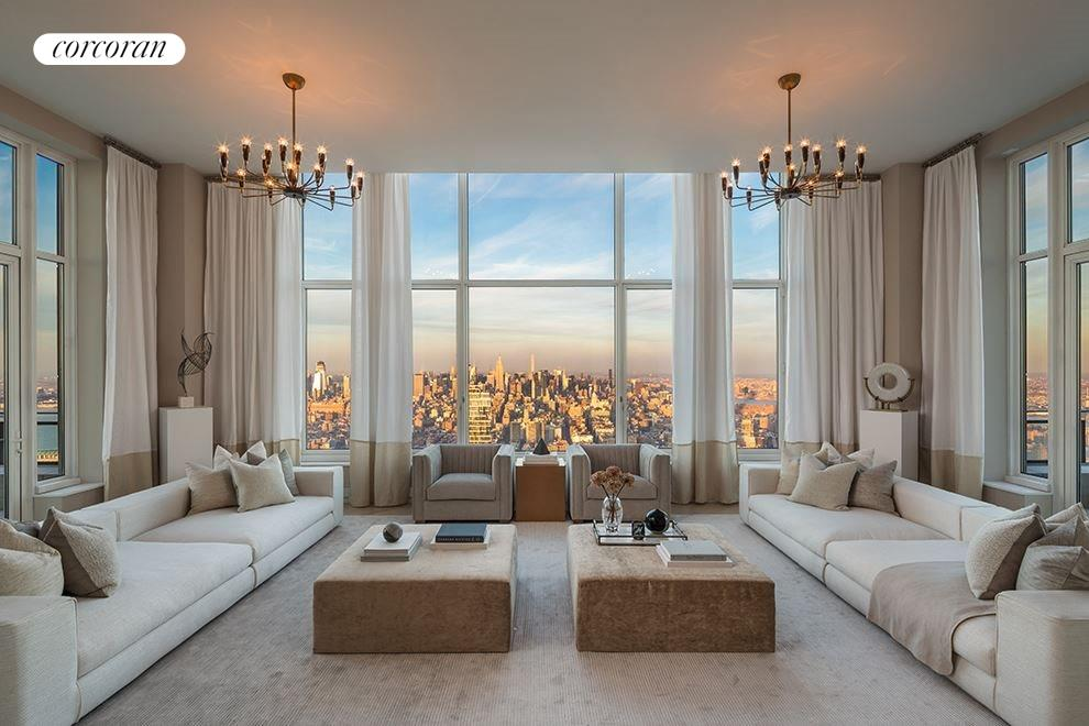 New York City Real Estate | View 30 PARK PLACE, #PH82 | 3 Beds, 4.5 Baths