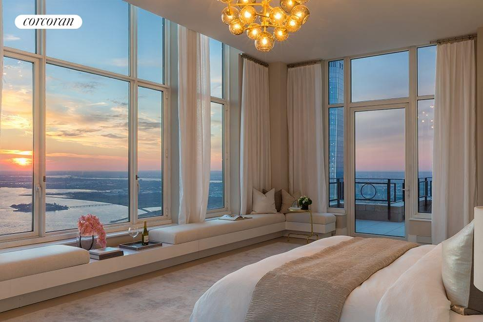 New York City Real Estate | View 30 PARK PLACE, #PH82 | Master Bedroom