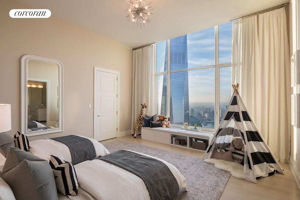 New York City Real Estate | View 30 PARK PLACE, #PH82 | Children's Bedroom