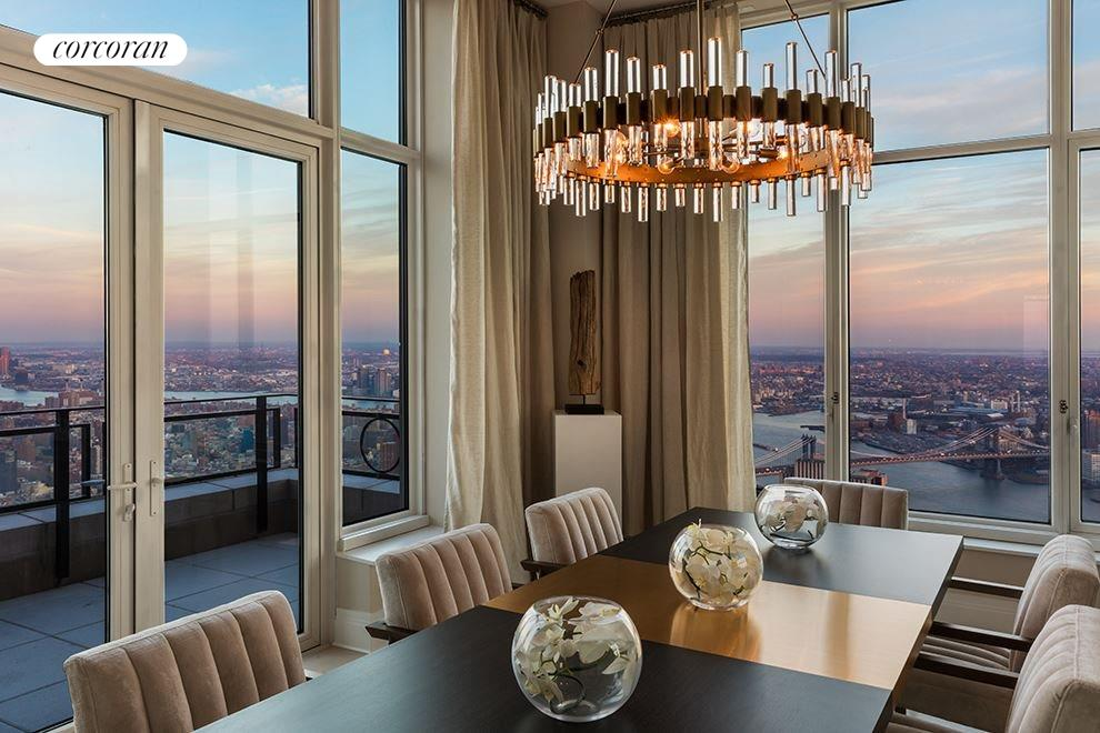 New York City Real Estate | View 30 PARK PLACE, #PH82 | Dining Room