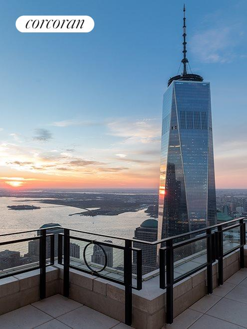 New York City Real Estate | View 30 PARK PLACE, #PH82 | Southwest Terrace