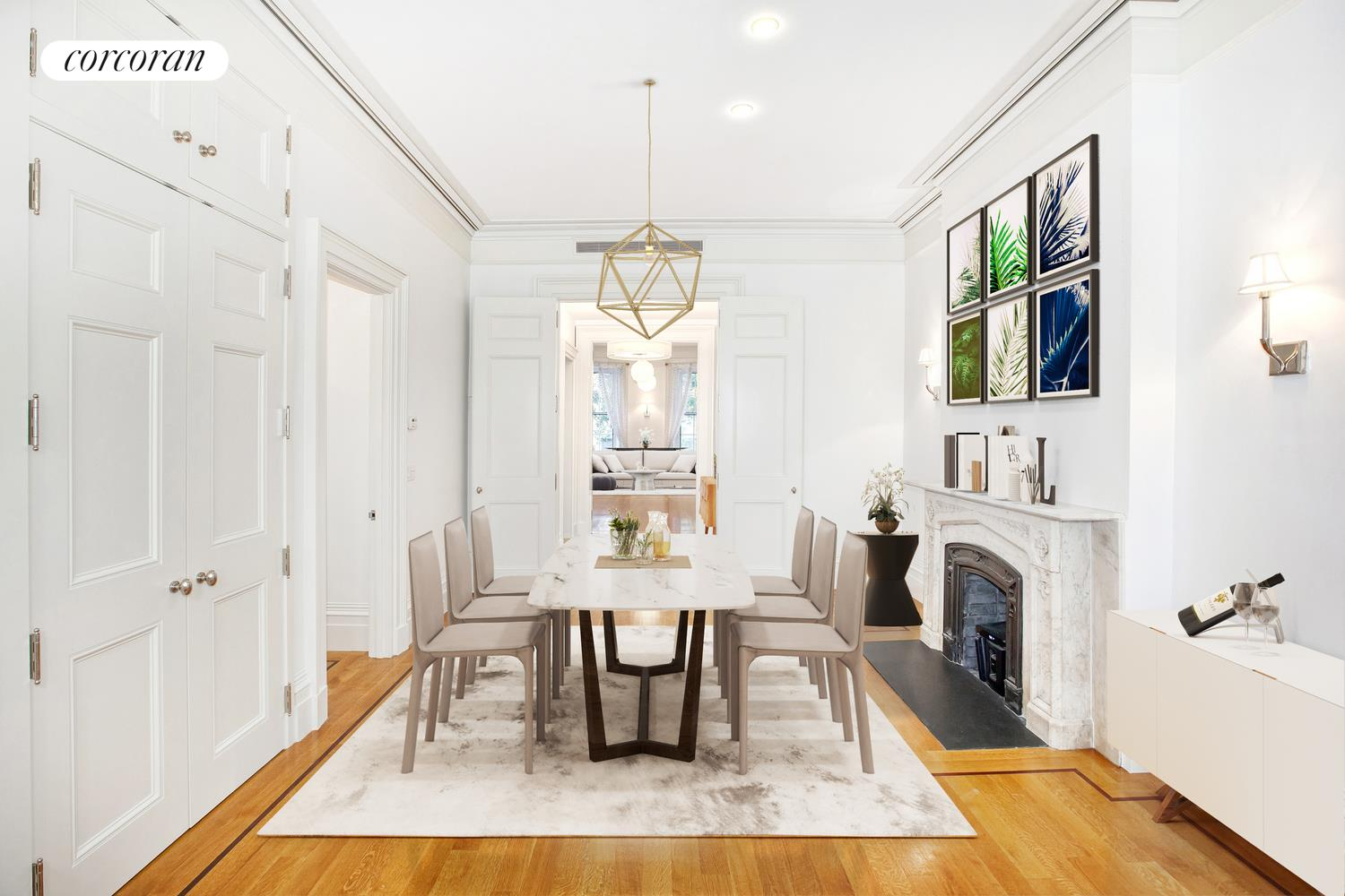 9 West 16th Street, 3, Dining Room