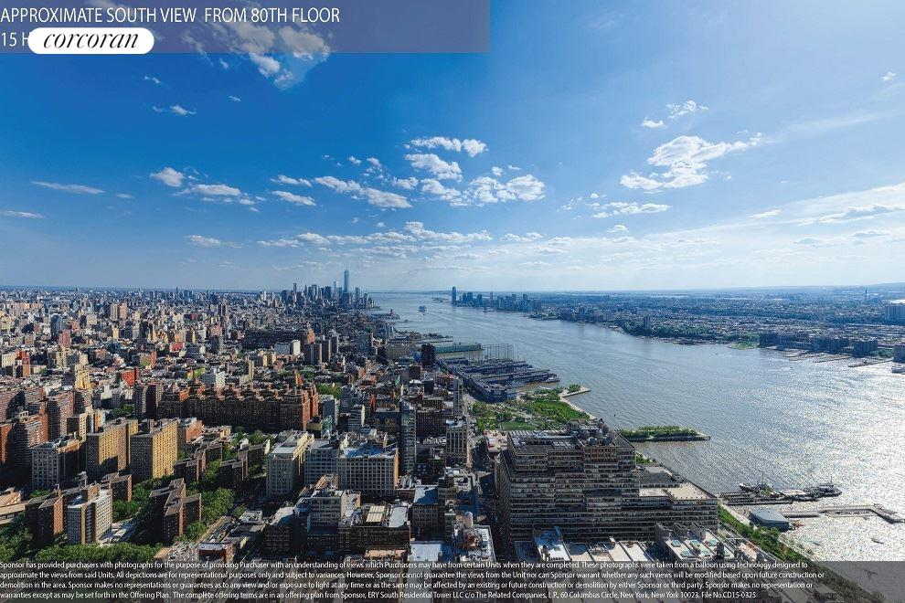 Condominium for Sale at 15 Hudson Yards, 501 West 30th Street Ph-85a 501 West 30th Street New York, New York 10001 United States