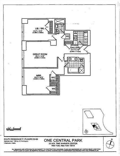 25 Columbus Circle 66 F New York City Property For Sale Corcoran
