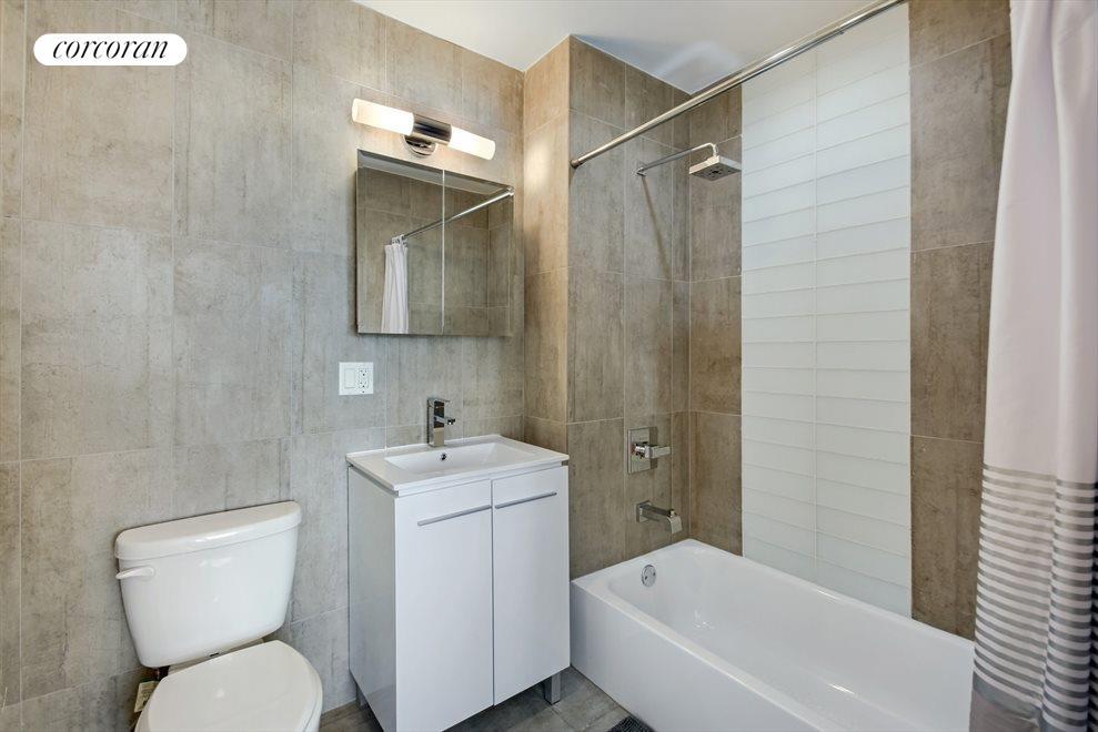 Two spacious bathroom