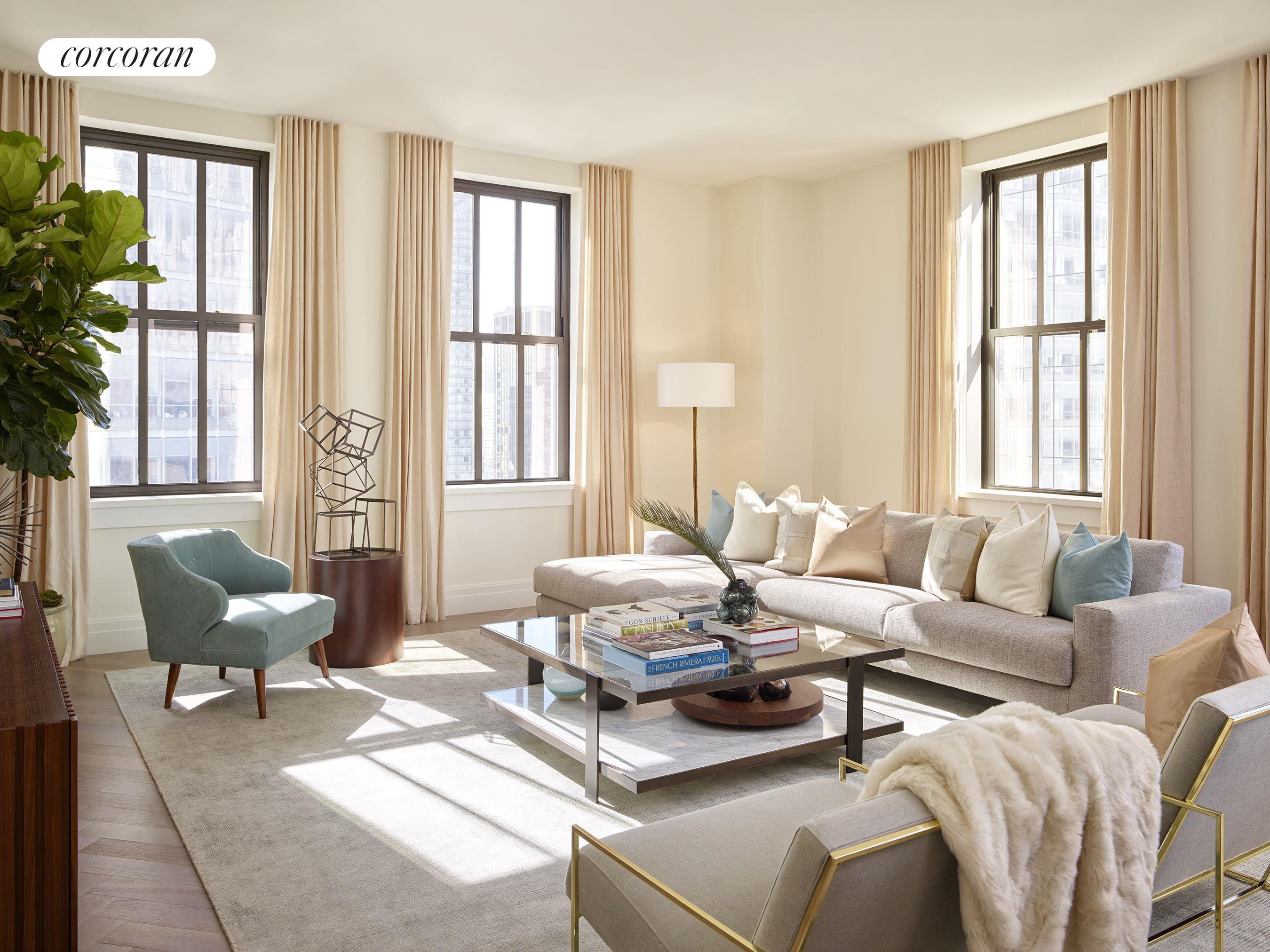 Corcoran, 100 BARCLAY ST, Apt. 22C, Tribeca Real Estate, Manhattan ...