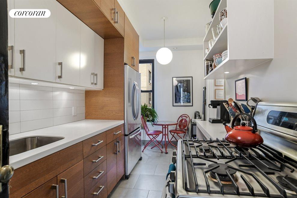 Sweet, windowed kitchen