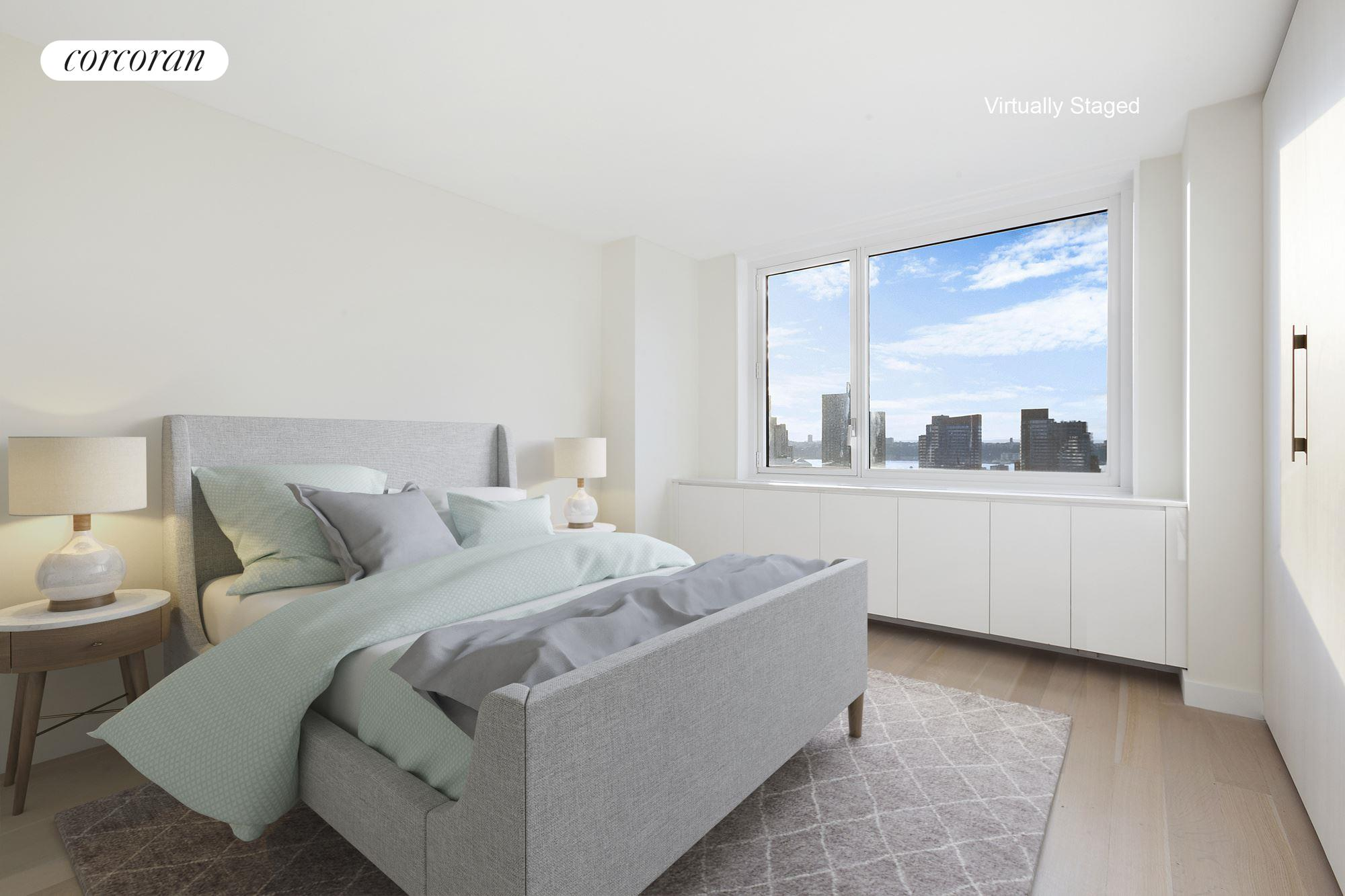 301 West 53rd Street, 20A, Living/Dining Room