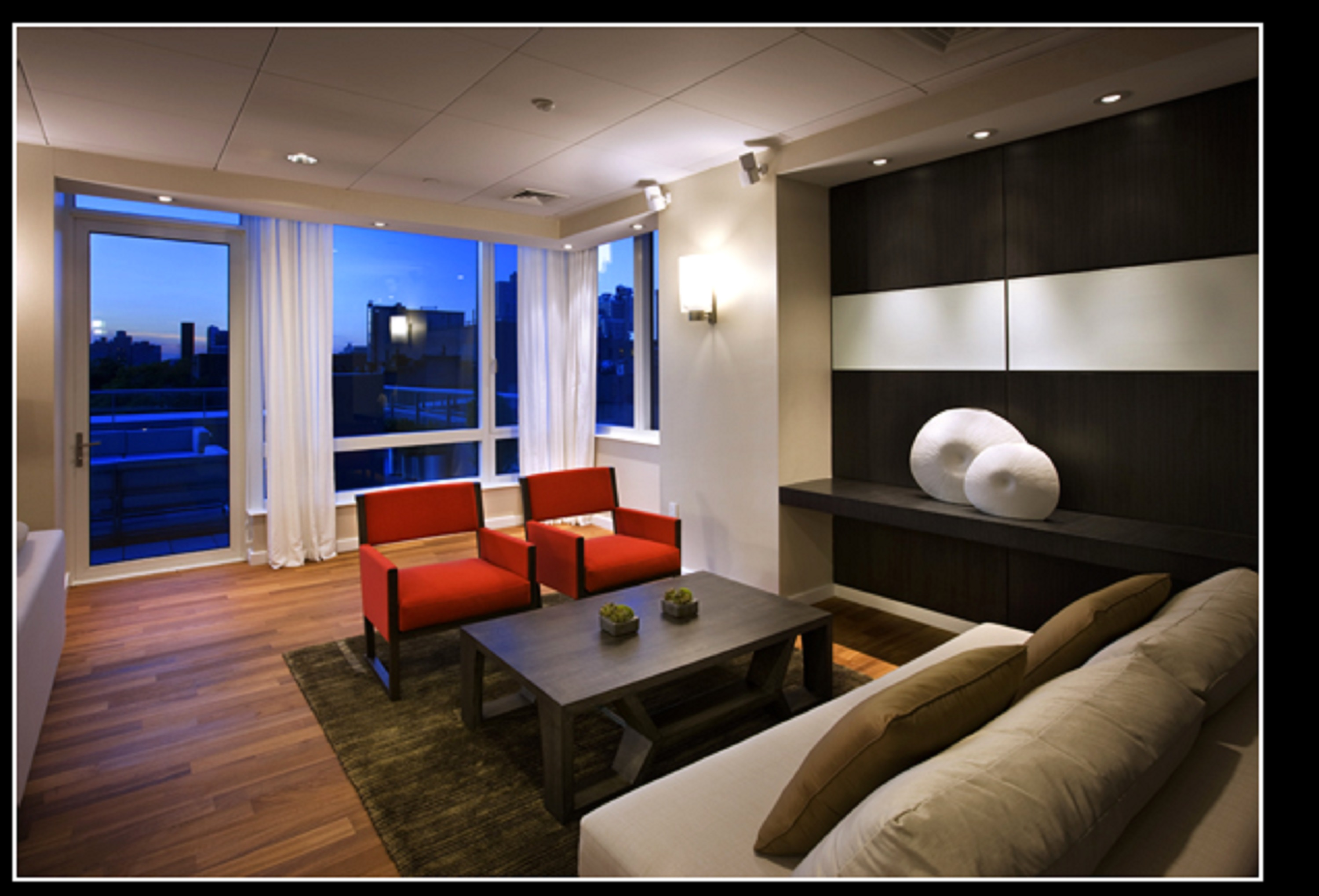 247 West 46th Street, 2305, Living Room