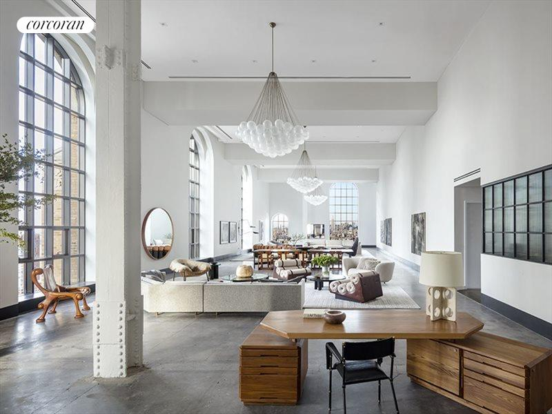 Charming 100 BARCLAY ST, Apt. Penthouse, Tribeca