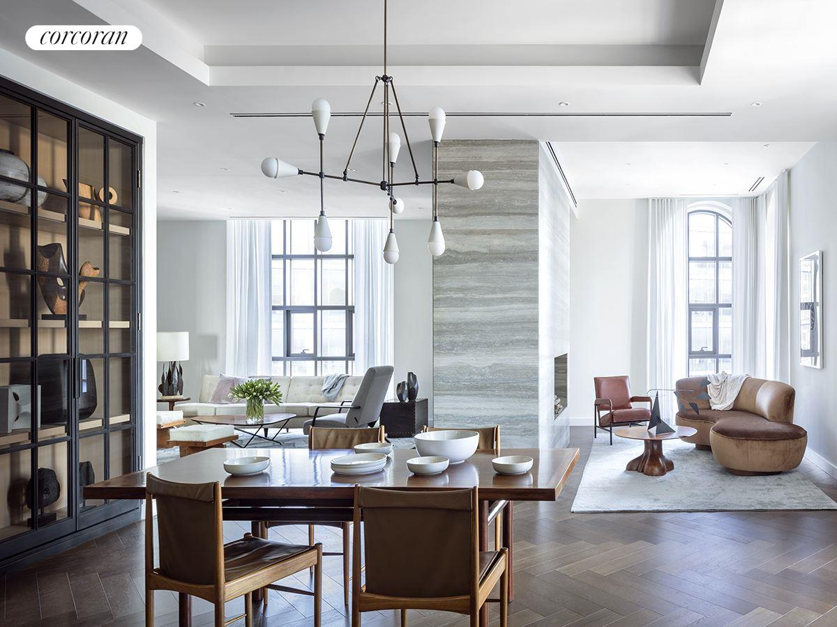 Corcoran barclay st apt penthouse tribeca real estate