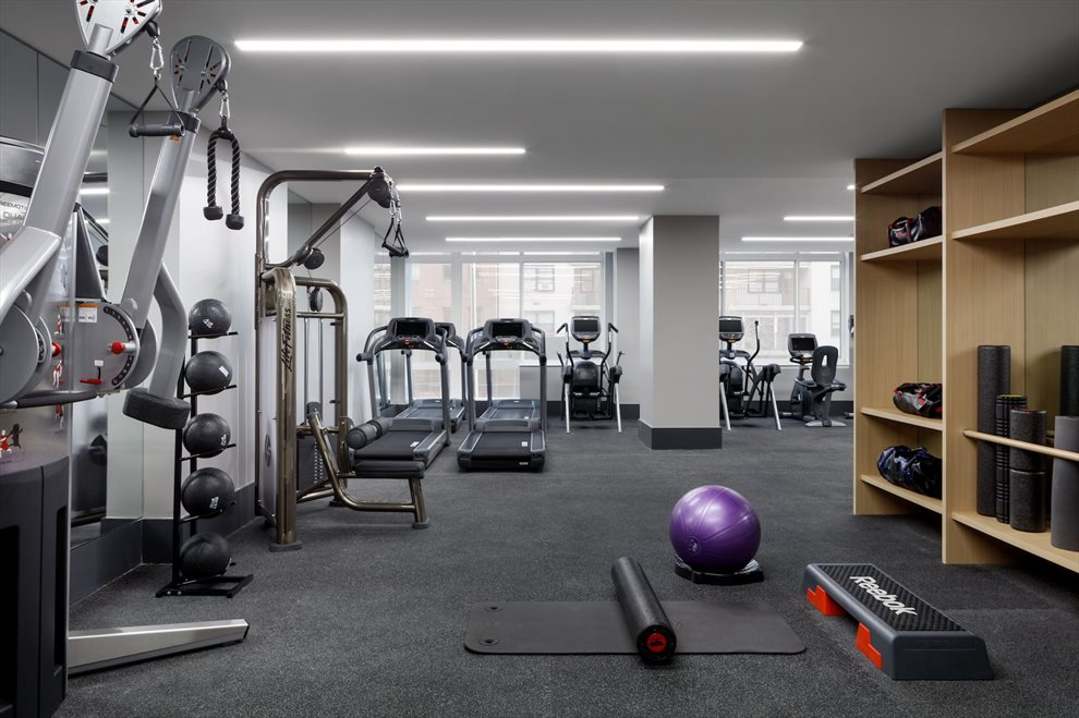 New York City Real Estate | View 389 East 89th Street, #28A | Fitness Center