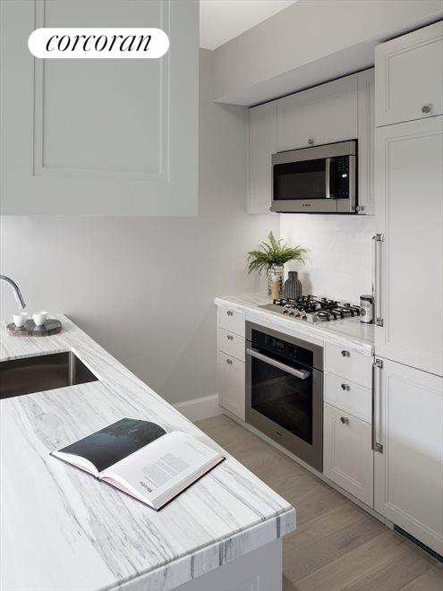 Kitchen with Miele appliances