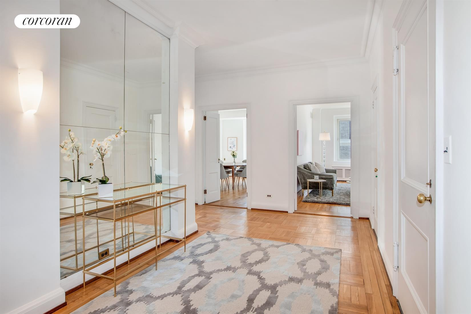 25 East End Avenue, 15G, Living Room
