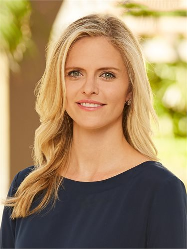 Kristina Anderson McPherson, a top realtor in South Florida for Corcoran, a real estate firm in Palm Beach.