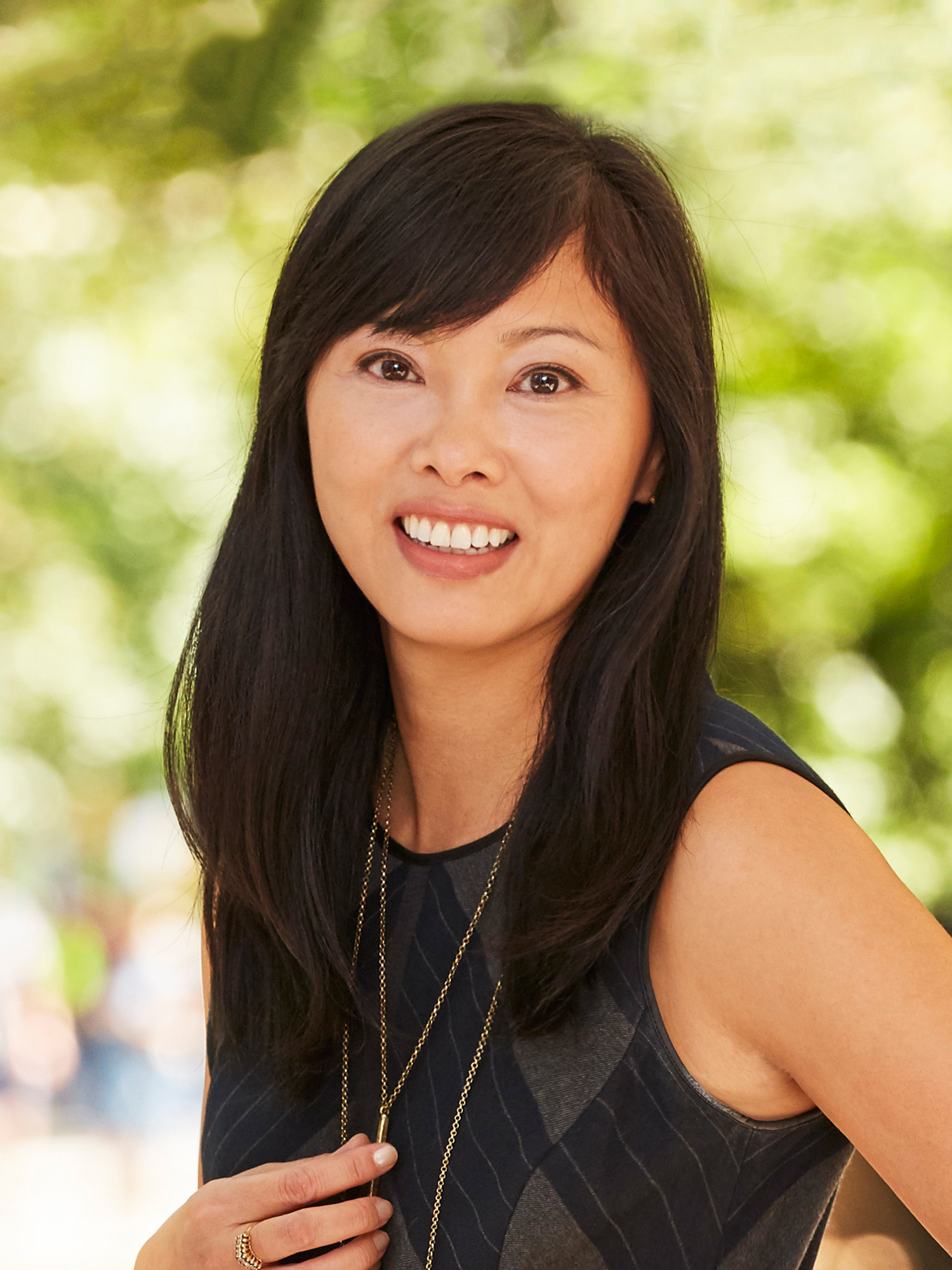 Linda Peng, a top realtor in New York City for Corcoran, a real estate firm in Park Slope.