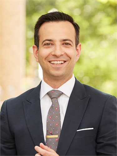 Daniel Kramp, a top realtor in New York City for Corcoran, a real estate firm in Union Square.