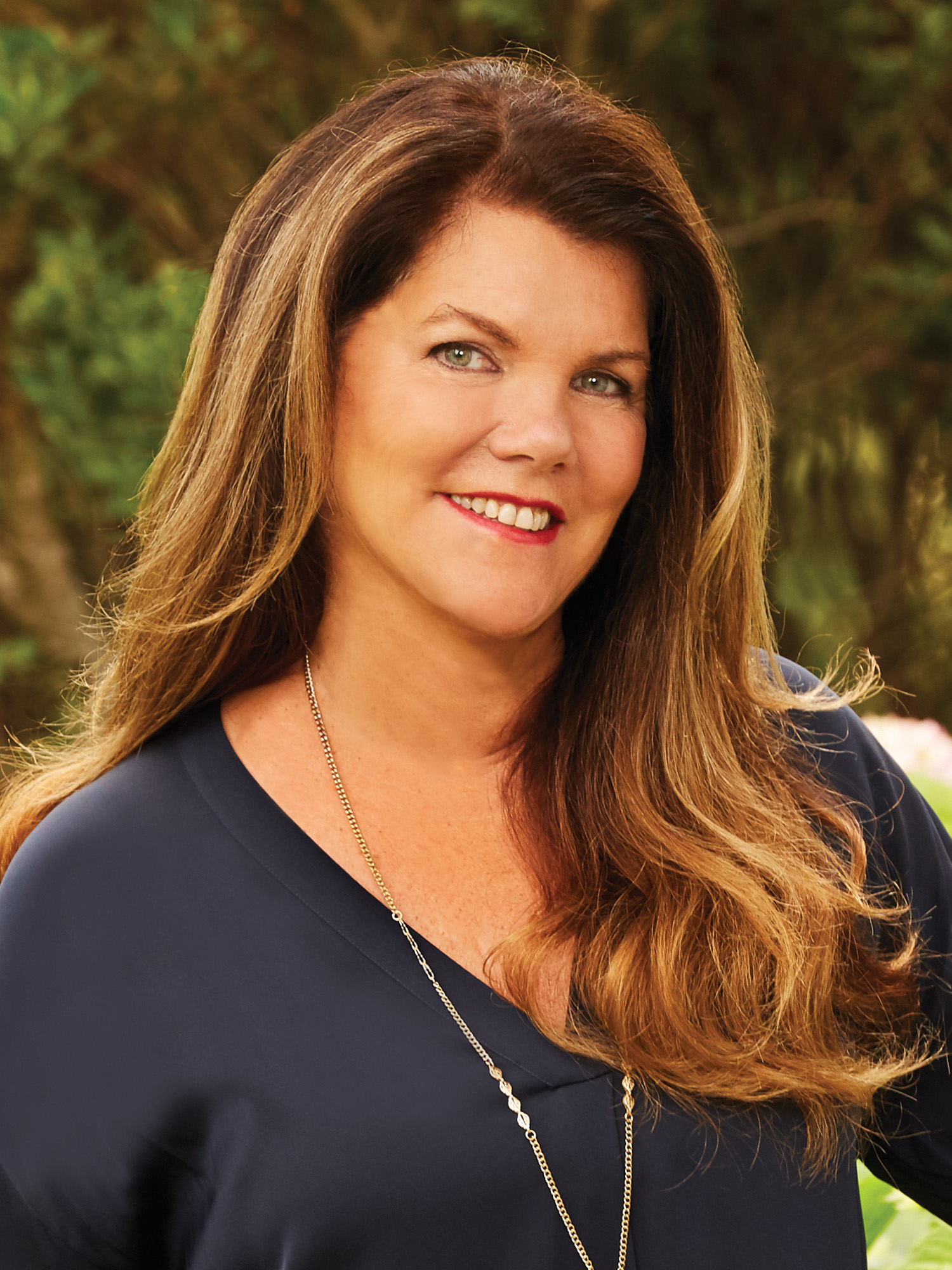 Lisa Gillooly, a top realtor in The Hamptons for Corcoran, a real estate firm in North Fork.