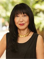 Fumiko Akiyama, a top real estate agent in New York City for Corcoran, a real estate company in Park Slope.