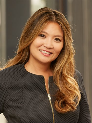 Victoria Reichelt, a top realtor in New York City for Corcoran, a real estate firm in Union Square.