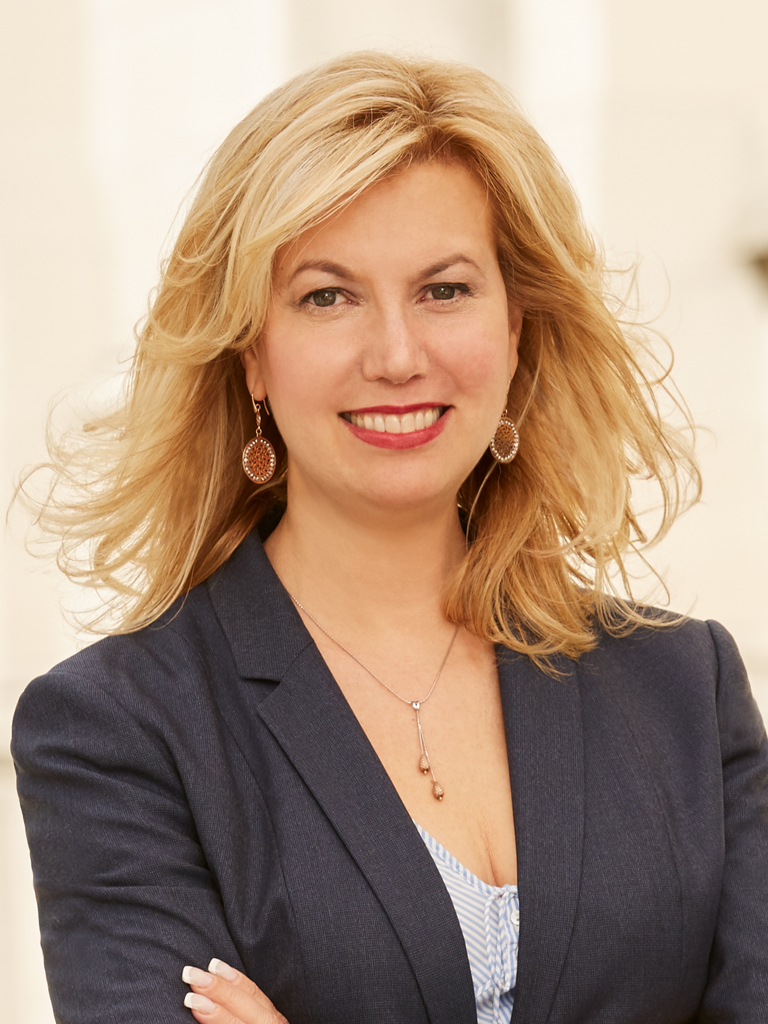Sabrina Seidner, a top realtor in New York City for Corcoran, a real estate firm in West Side Gallery.