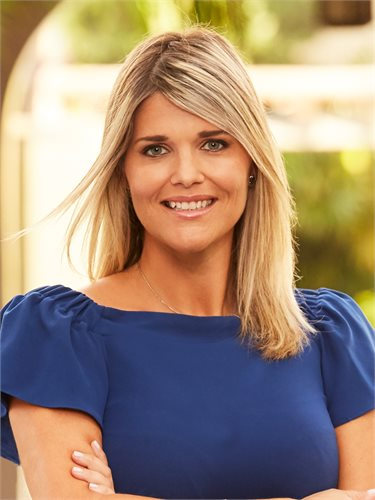 Courtney Knopf, a top realtor in South Florida for Corcoran, a real estate firm in Delray Beach/Gulf Stream.