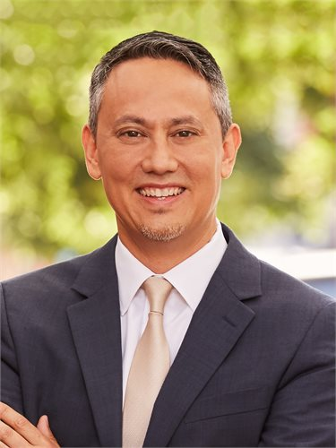 Cary Tamura, a top realtor in New York City for Corcoran, a real estate firm in Union Square.