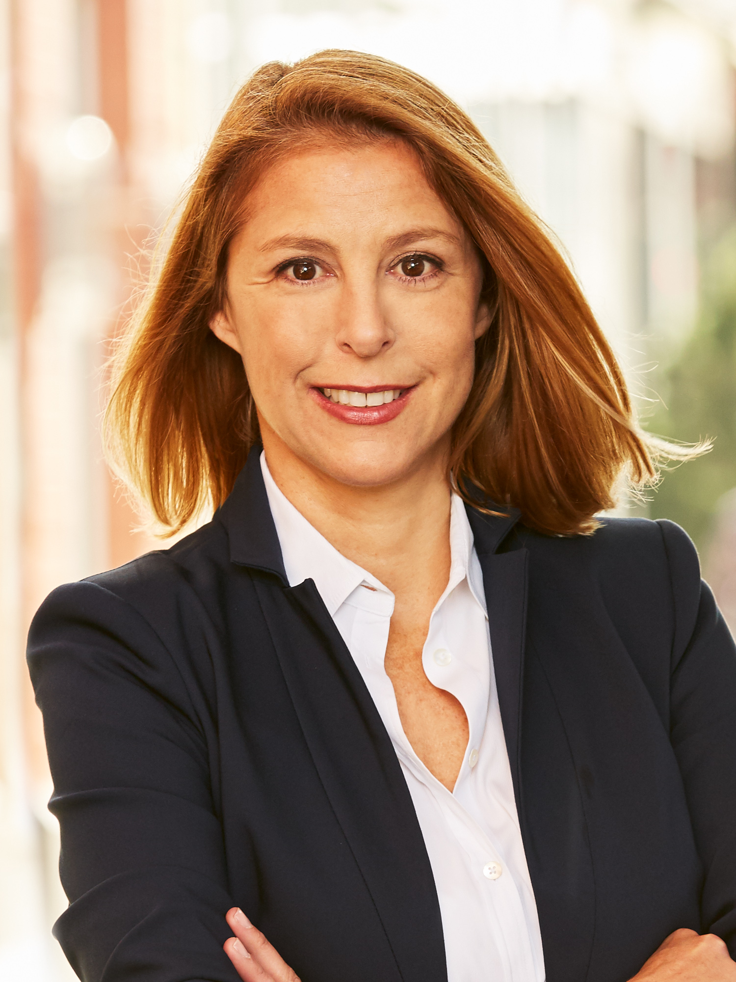 AnneMarie Tamis-Nasello, a top realtor in New York City for Corcoran, a real estate firm in East Side.
