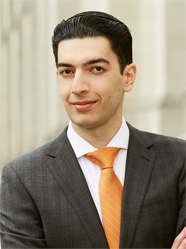 Josef Yadgarov, a top realtor in New York City for Corcoran, a real estate firm in East Side.