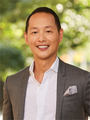 Tom Le, a top realtor in New York City for Corcoran, a real estate firm in Williamsburg Bedford.