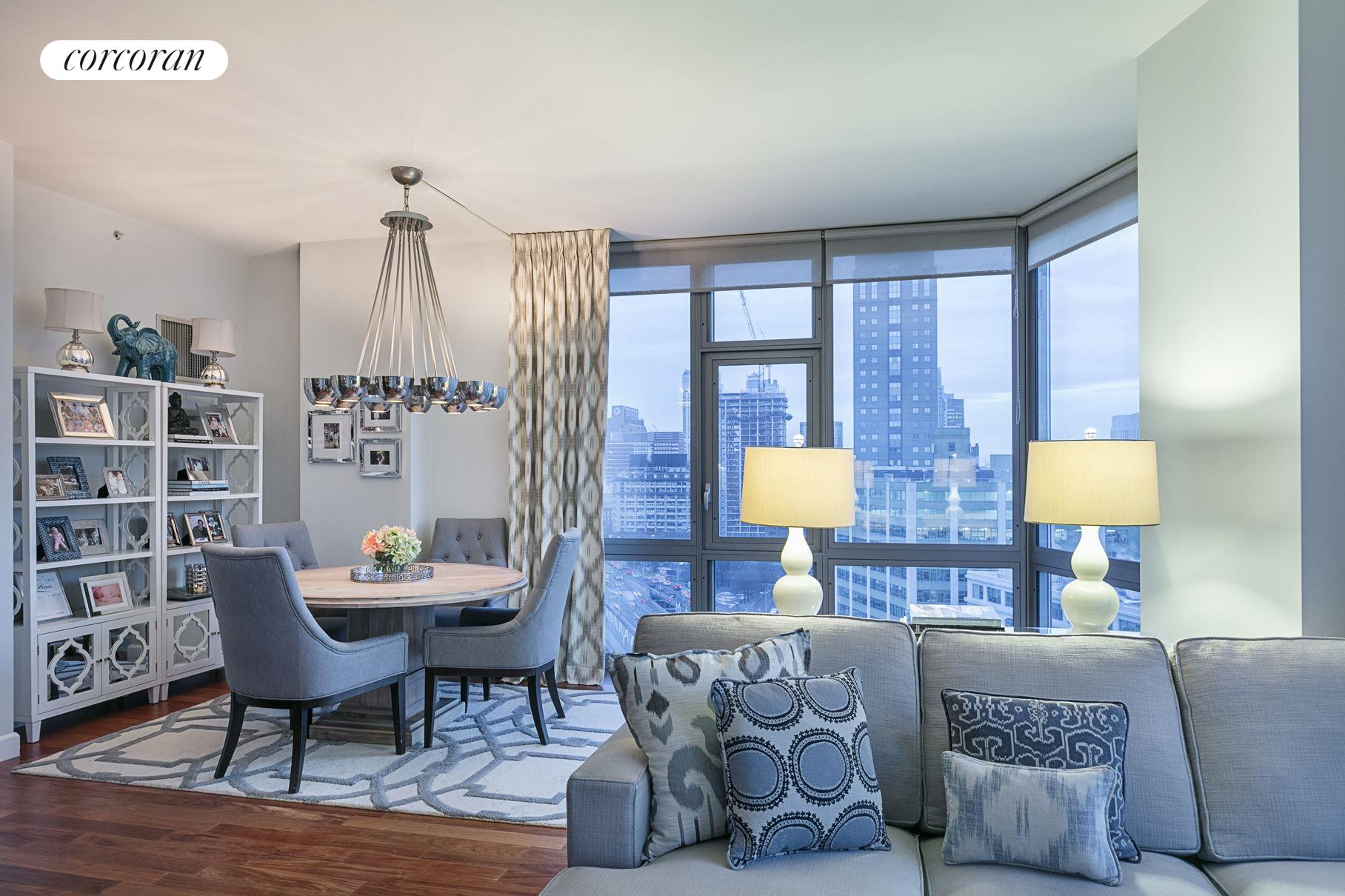 Lovely 100 Jay Street, 21G, Living Room