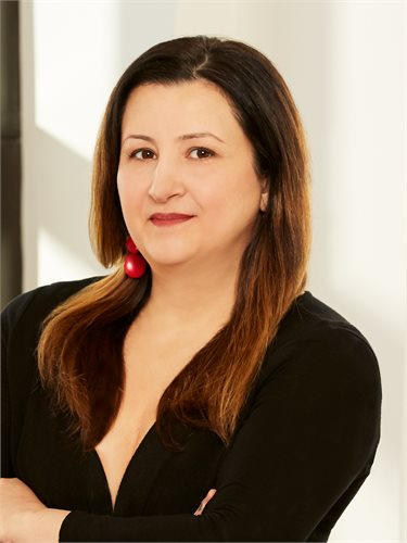 Lisa Sulfaro, a top realtor in New York City for Corcoran, a real estate firm in Brooklyn Heights.