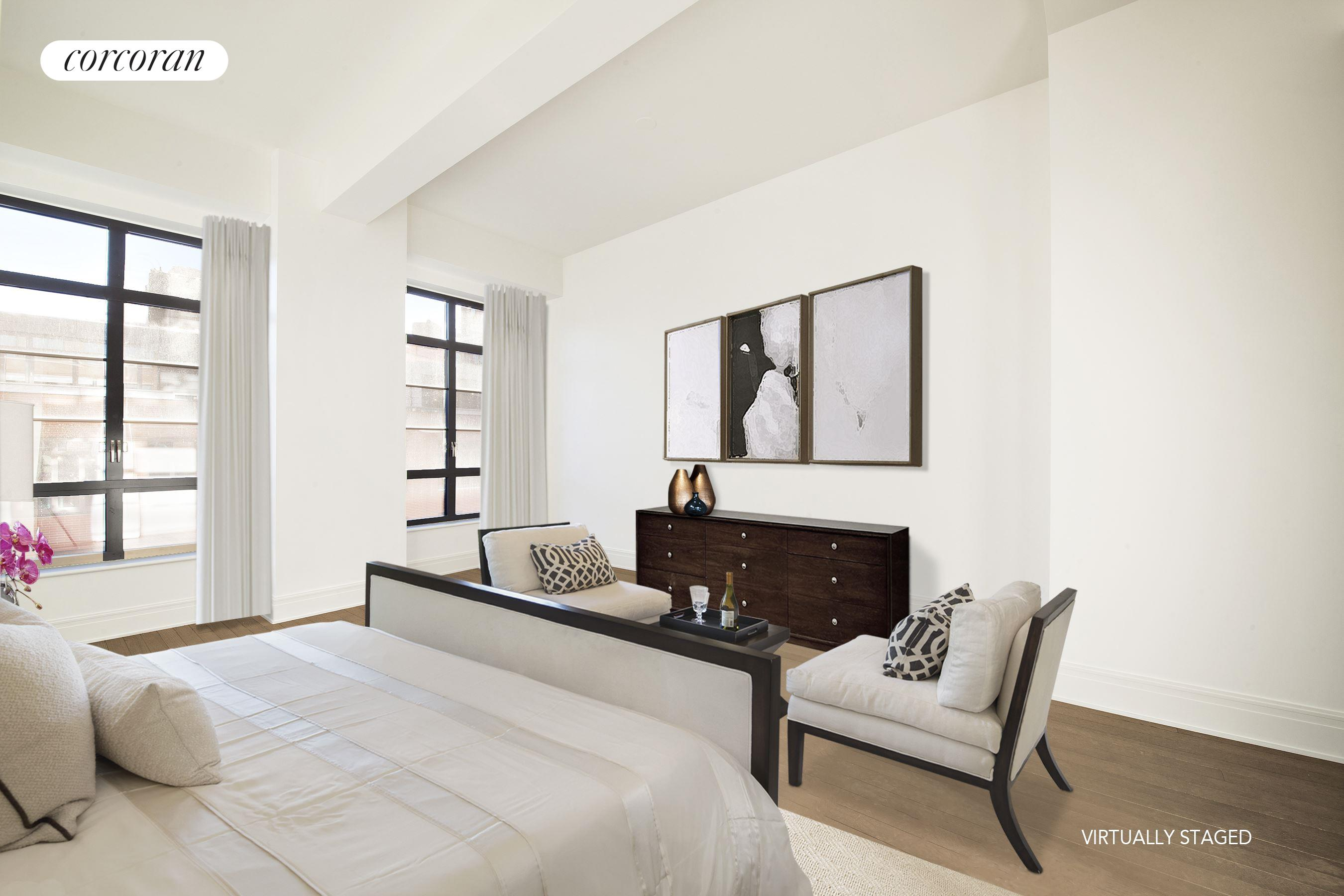 140 West 12th Street, 403, Living Room