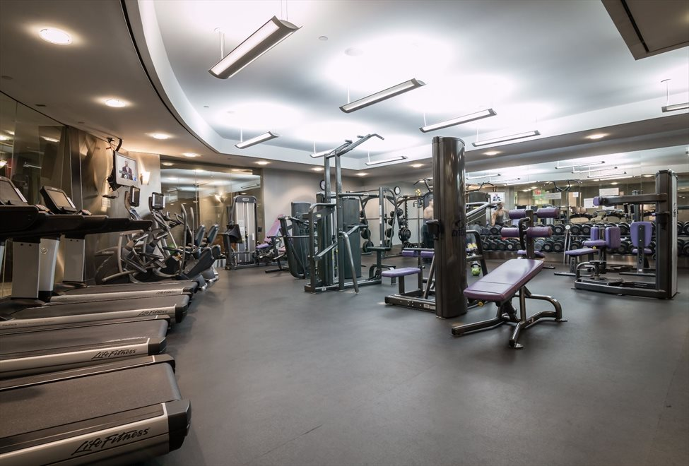 New York City Real Estate | View 120 Riverside Blvd, #11M | State of the Art Fitness Center