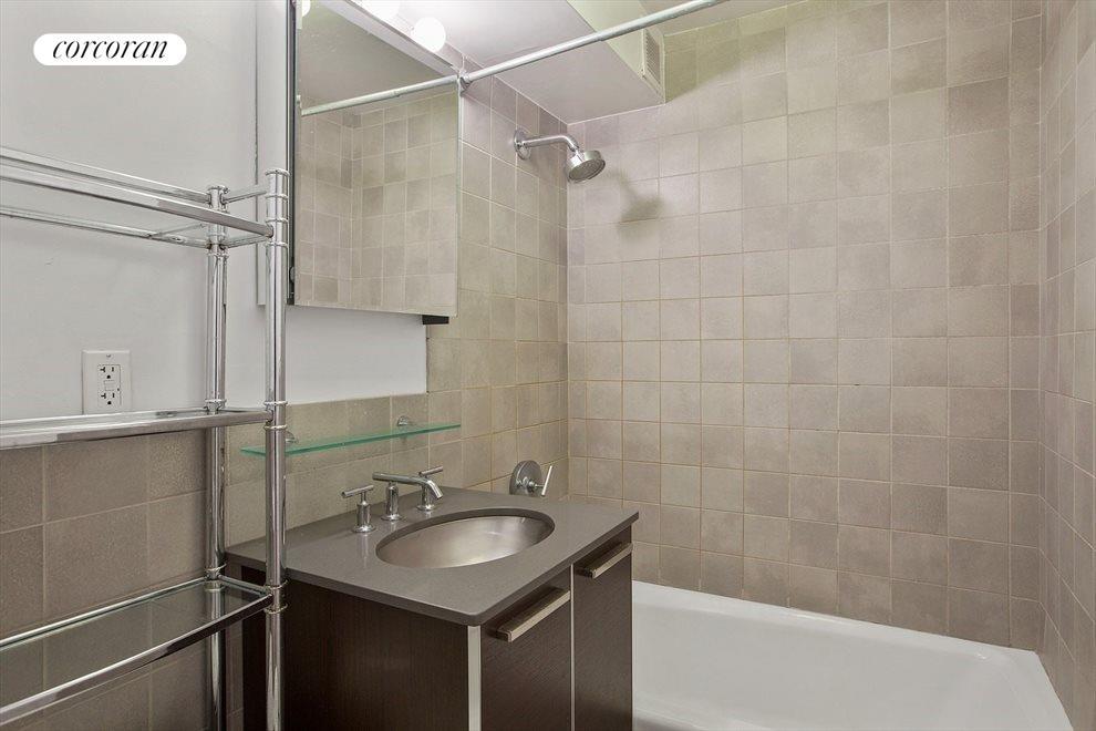 Renovated Bathroom Modern Vanity with Storage