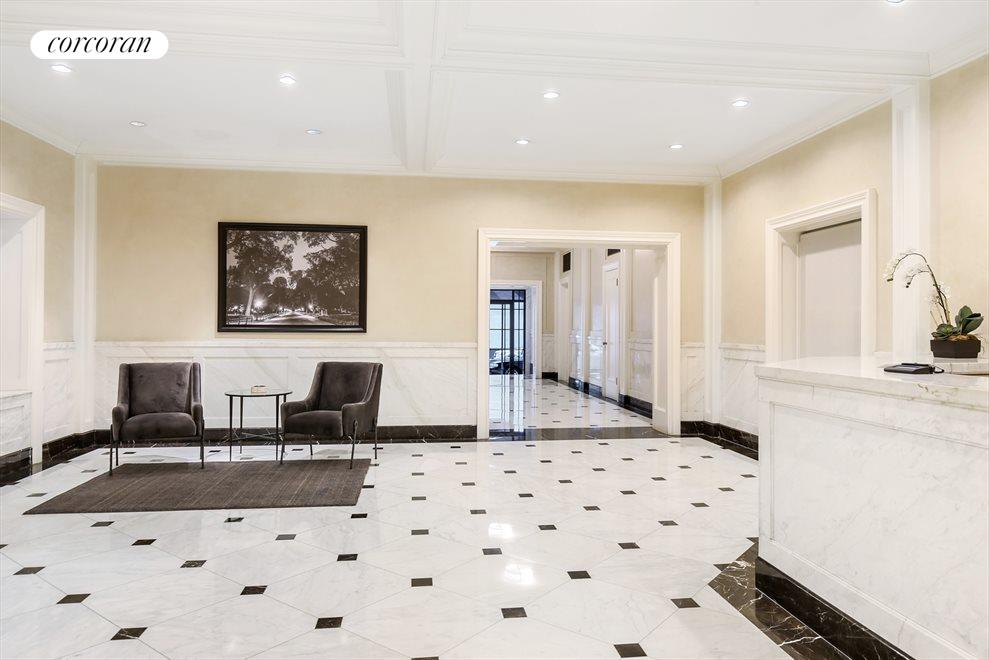 New York City Real Estate | View 215 West 88th Street, #10G | Gorgeous new lobby