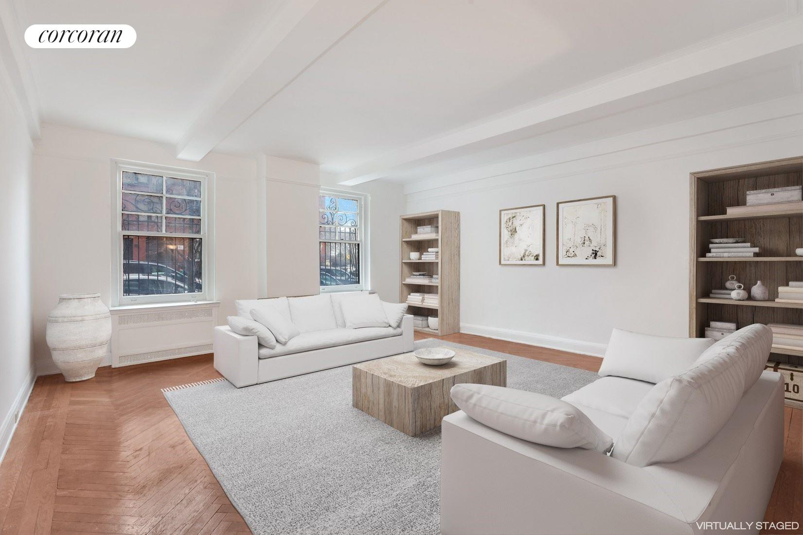 130 East End Avenue, 1B, Living Room