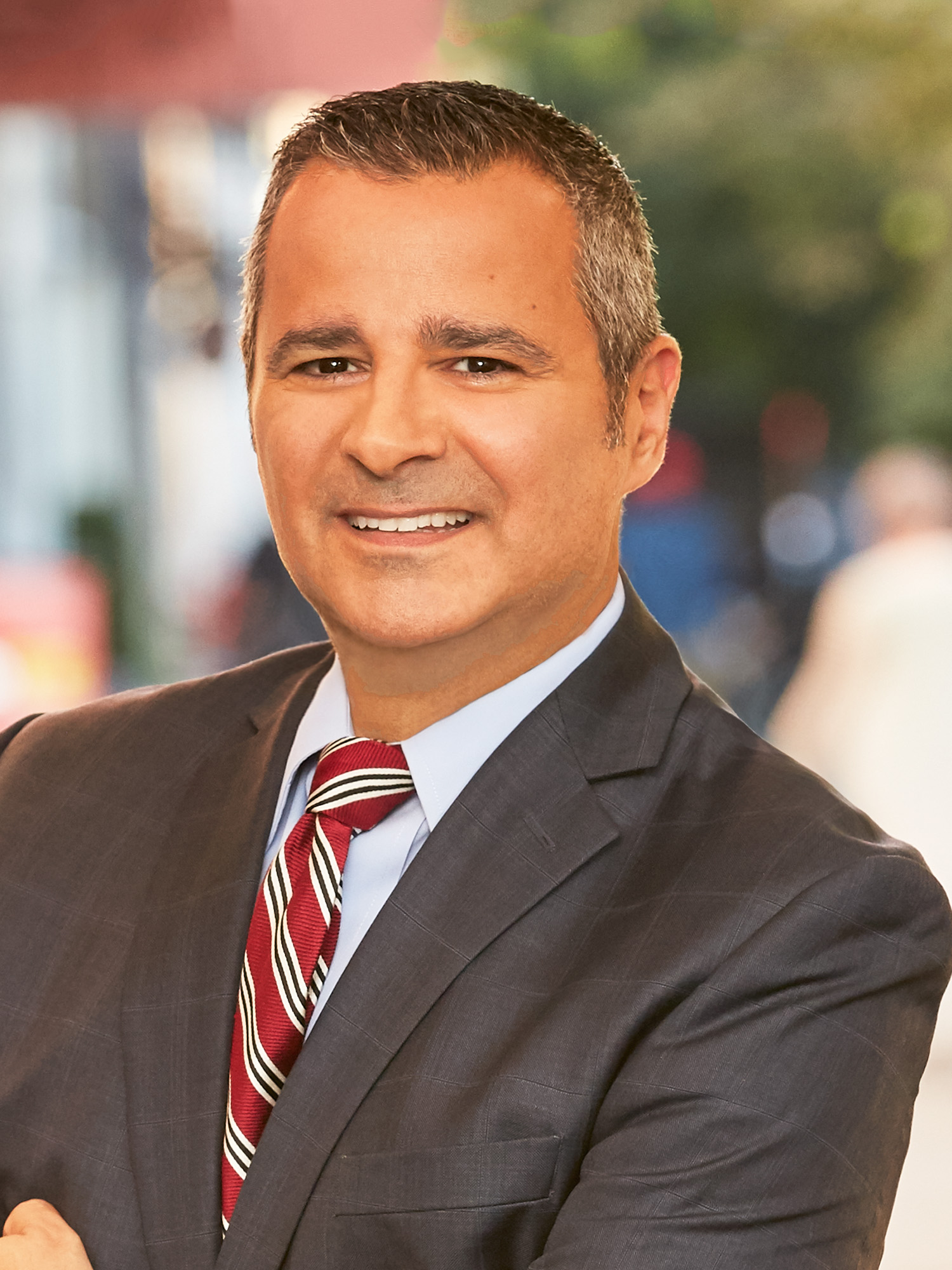 Nicholas Athanail, a top realtor in New York City for Corcoran, a real estate firm in SoHo.