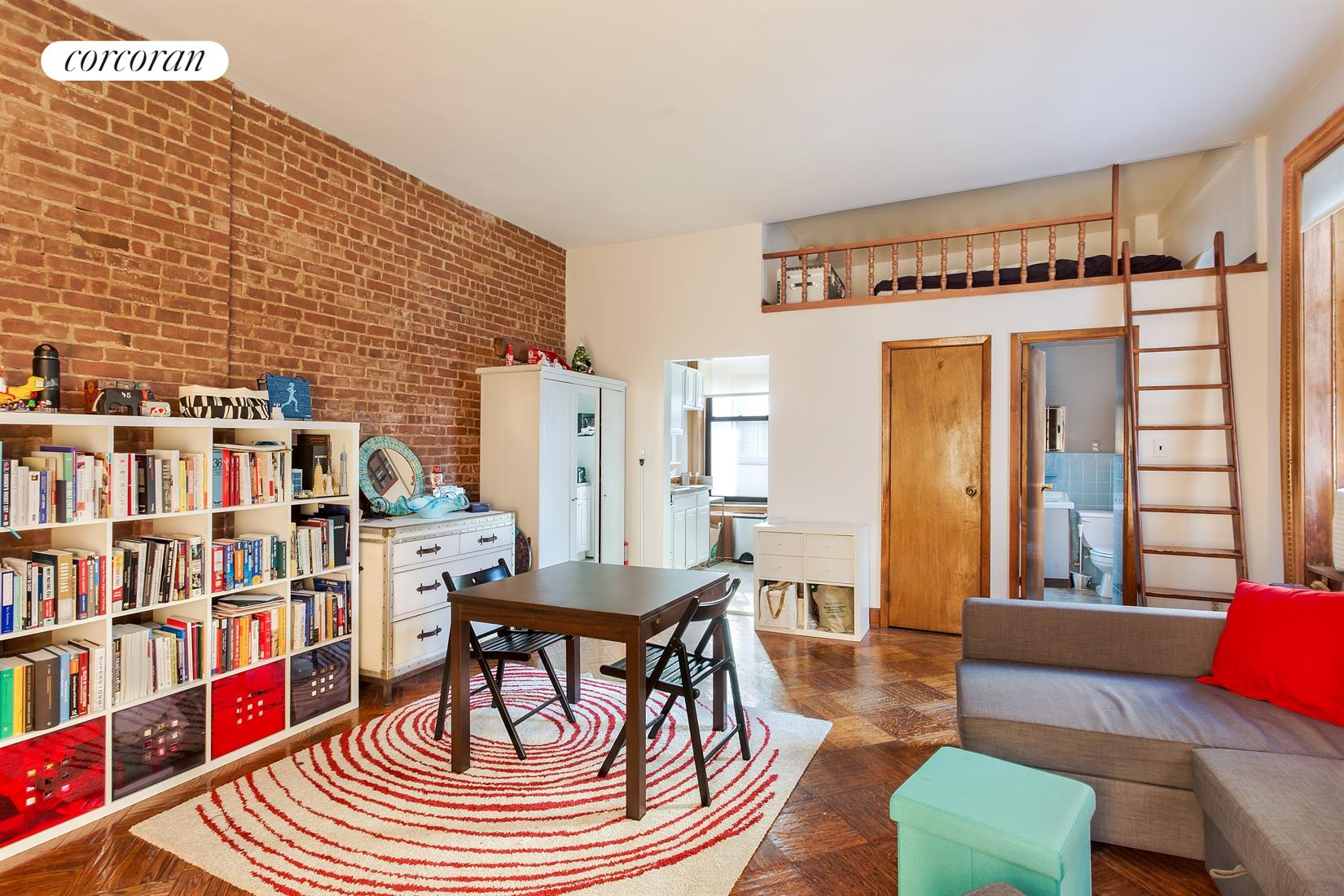 27 West 75th Street, 2C, Living Room