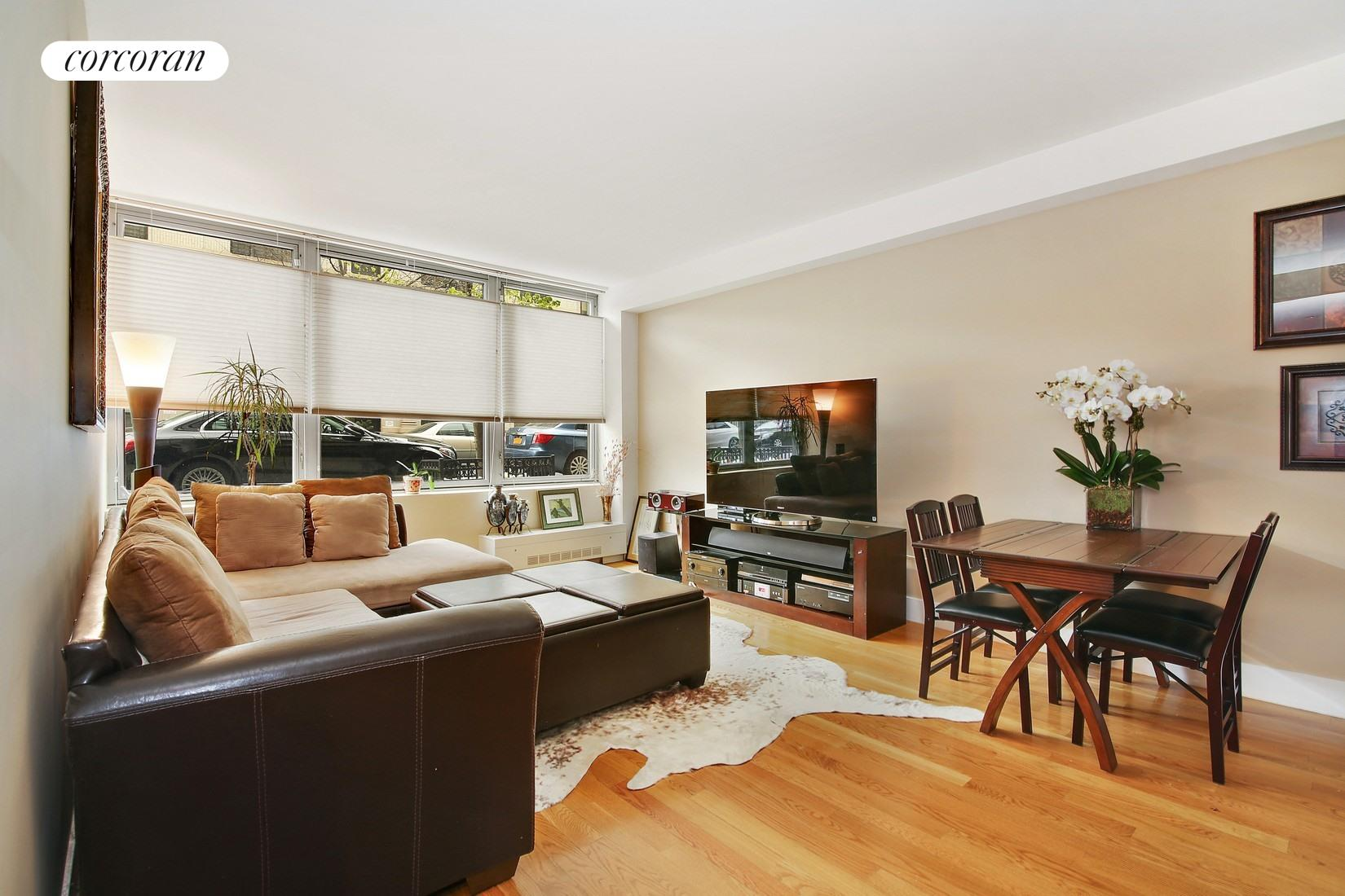 117 West 123rd Street, 1A, Living Room