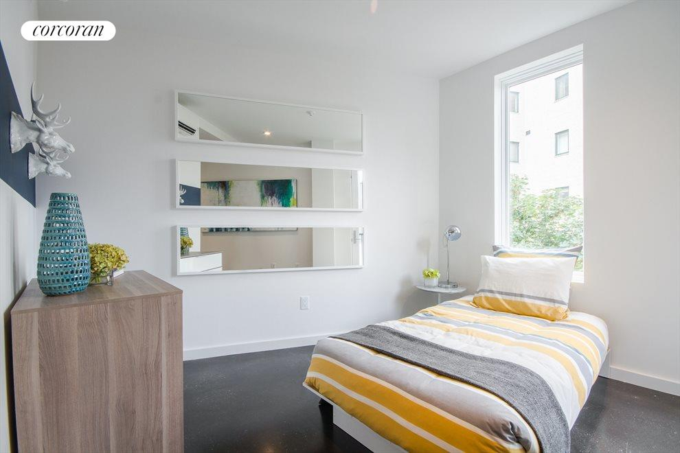 Bright guest bed room or office