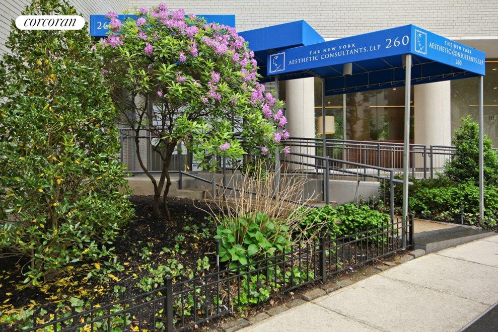 Entrance to 260 East 66th Street