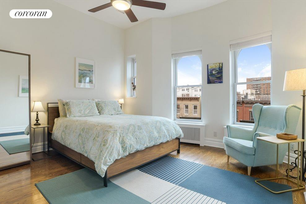 Spacious & sunny master bedroom