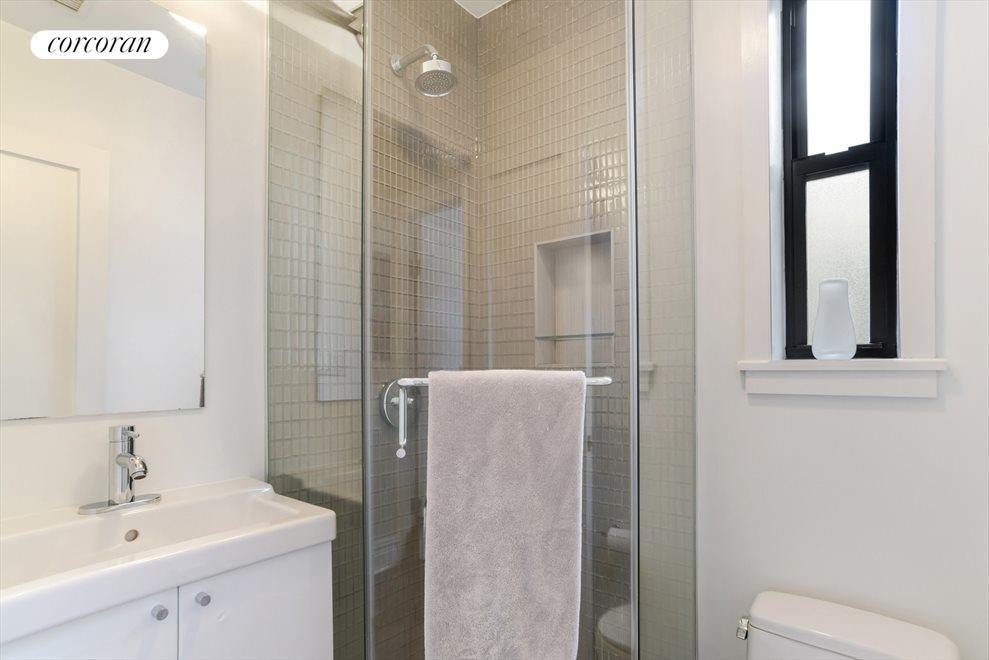 Windowed second bath