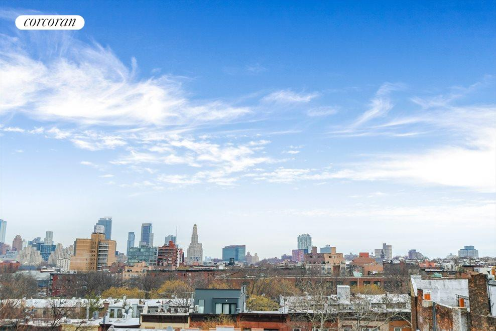 Sweeping open skyline views from your private roof