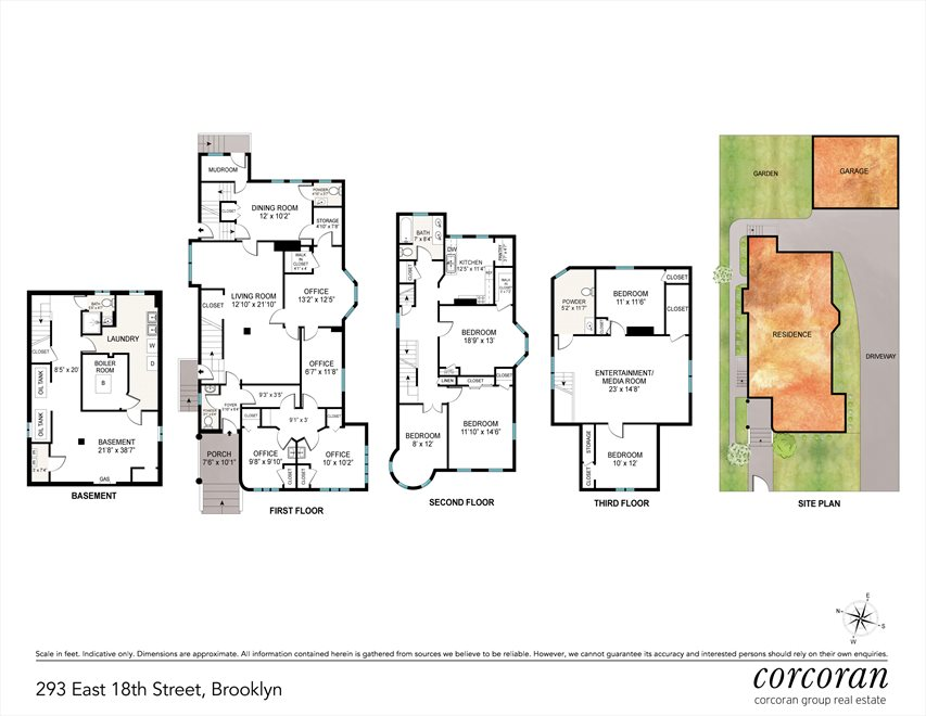 New York City Real Estate | View 293 East 18th Street | Floorplan